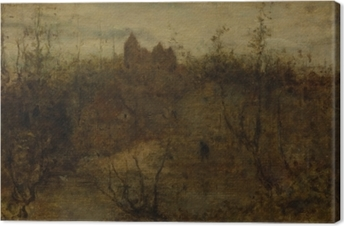 Matthijs Maris - The Enchanted Castle Canvas Print