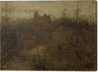 Matthijs Maris - The Enchanted Castle Canvas Print