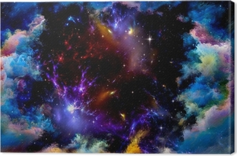 Metaphorical Space Canvas Print