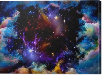 Metaphorical Space Canvas Print