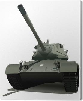 Military Tank Canvas Print