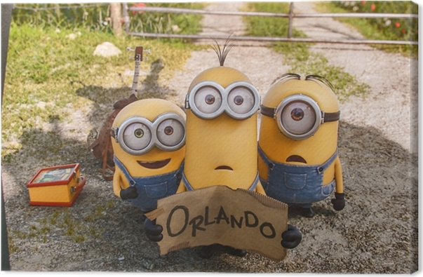 Minions Canvas Print - Themes