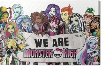Monster High Canvas Print