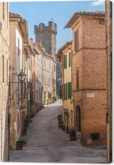 Montalcino, Tuscany, Italy Canvas Print
