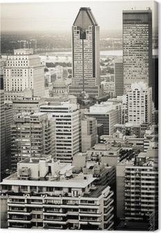 Montreal city Canvas Print