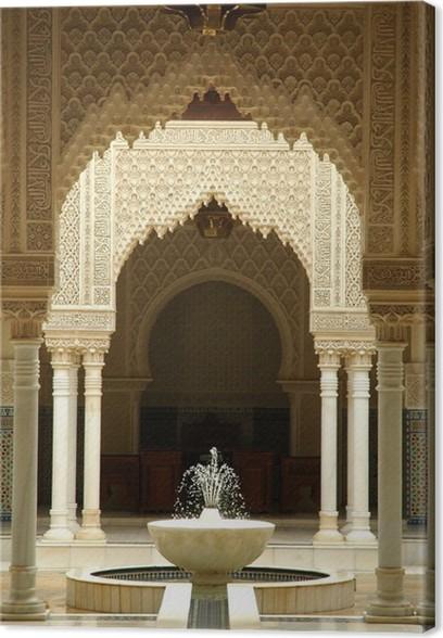 moroccan architecture interiors canvas print pixers we live to
