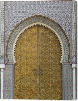 moroccan entrance (3) Canvas Print