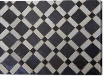 Moroccan Zellige Tile Pattern Canvas Print