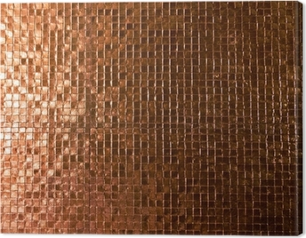 mosaic tile background Canvas Print