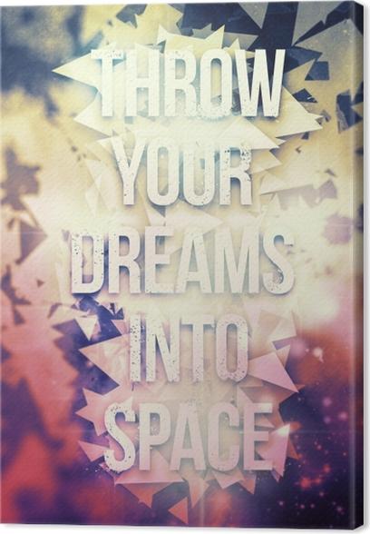 Motivational Poster Canvas Print - Motivational posters