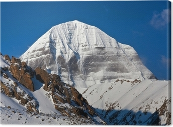 Mount Kailash in Tibet Canvas Print