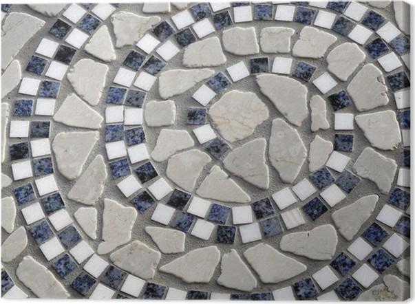 Naturstein Sprirale Aus Marmor Und Granit Canvas Print Pixers