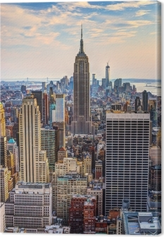 New York City at Dusk Canvas Print