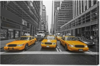 NEW YORK CITY -MARCH 25: Times Square, featured with Broadway Th Canvas Print
