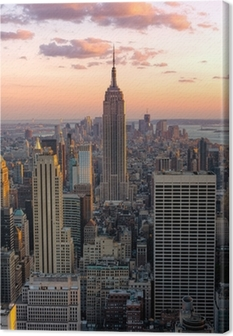 New York Empire state building Canvas Print