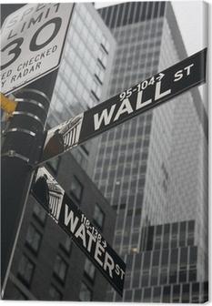 New York - Wall Street Canvas Print