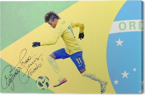 Neymar Canvas Print - Neymar