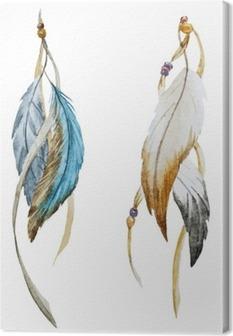 Nice feather Canvas Print