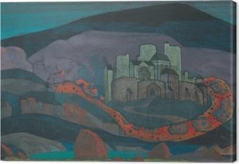 Nicholas Roerich - The Doomed City Canvas Print