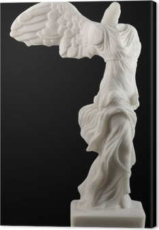 Nike ( Victory ) of Samothrace Canvas Print