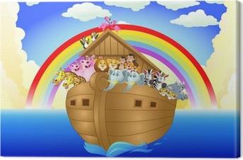 Noah ark Canvas Print