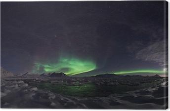 Northern Lights, Spitsbergen Canvas Print