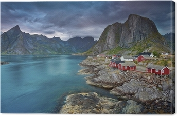 Norway. Canvas Print
