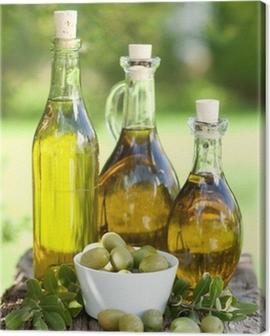 Olivenöl Canvas Print