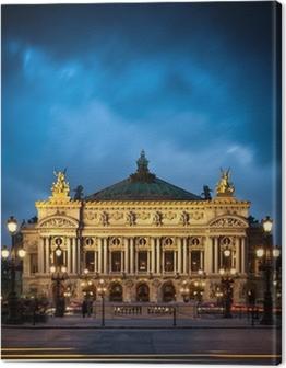 Opéra Garnier, Paris, France Canvas Print