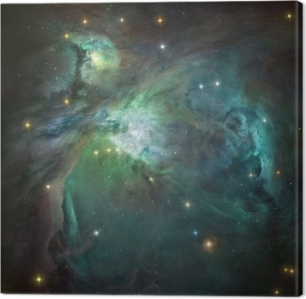 Orion nebula in deep space. Element of image furnished by NASA. Canvas Print