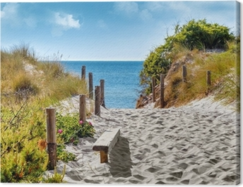 Ostseeküste Canvas Print