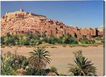 Ouarzazate Marocco città set del film Il Gladiatore Canvas Print