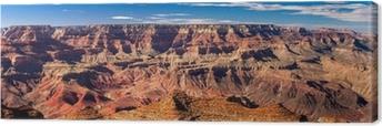 Panoramic Grand Canyon, USA Canvas Print