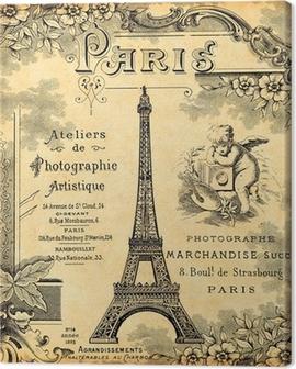 Paris 1900 Canvas Print