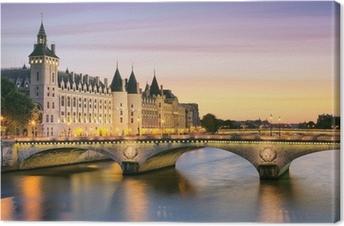Paris, Conciergerie Canvas Print
