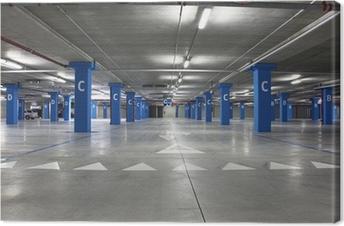 parking Canvas Print