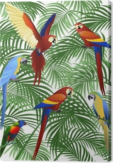 Parrot bird Canvas Print