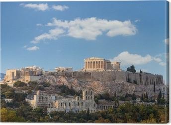 Parthenon, Akropolis - Athens, Greece Canvas Print