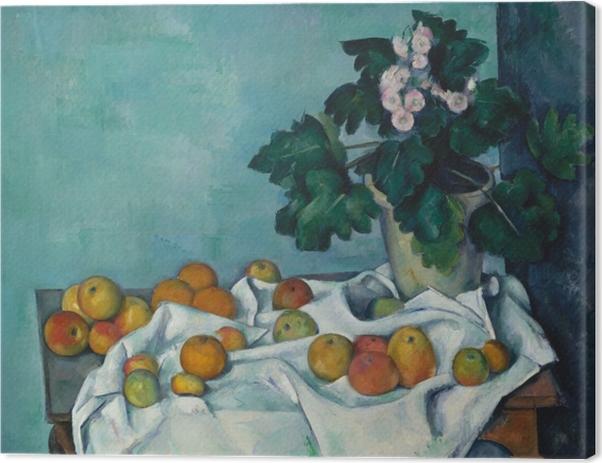 Paul Cézanne - Fruit on a Cloth Canvas Print - Reproductions