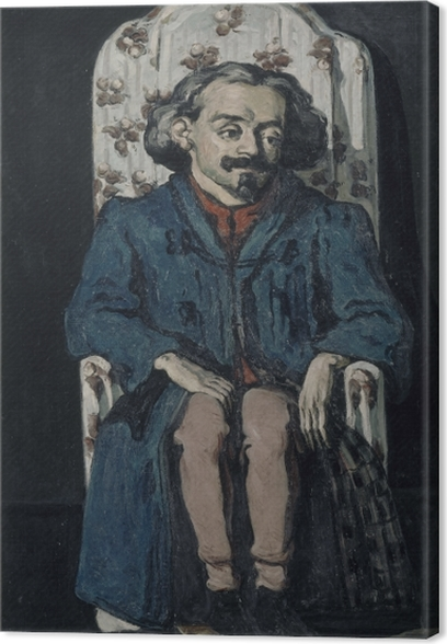 Paul Cézanne - Portrait of Achille Emperaire Canvas Print - Reproductions