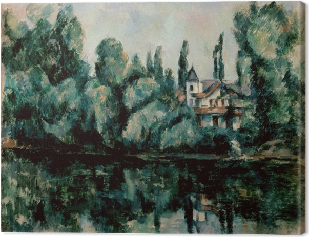 Paul Cézanne - The Banks of the Marne Canvas Print - Reproductions