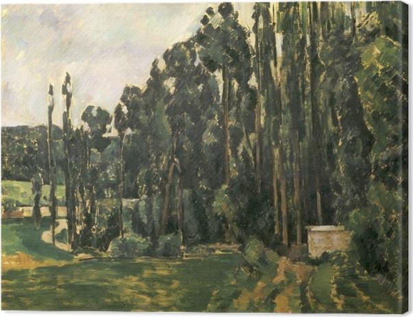 Paul Cézanne - The Poplars Canvas Print - Reproductions