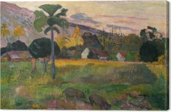 Paul Gauguin - Haere mai (Come here) Canvas Print
