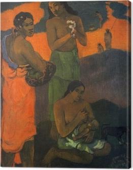 Paul Gauguin - Motherhood Canvas Print