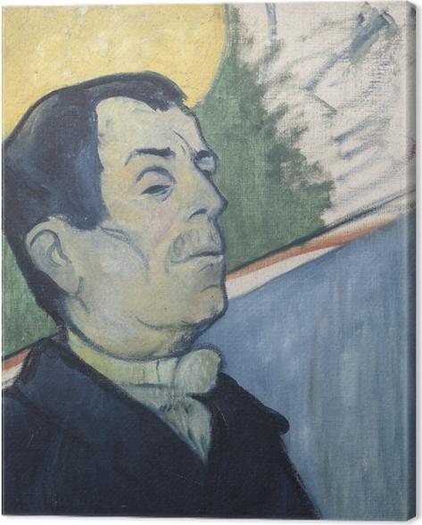 Paul Gauguin - Mr Ginoux Canvas Print - Reproductions
