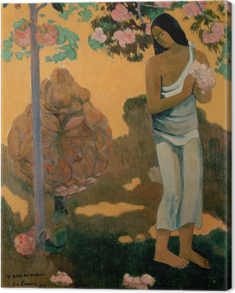 Paul Gauguin - Te avae no Maria (The Month of Mary) Canvas Print - Reproductions