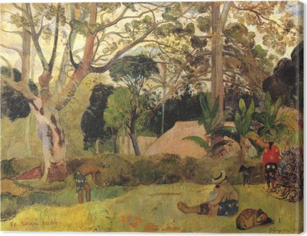 Paul Gauguin - Te Raau Rahi (The Big Tree) Canvas Print - Reproductions