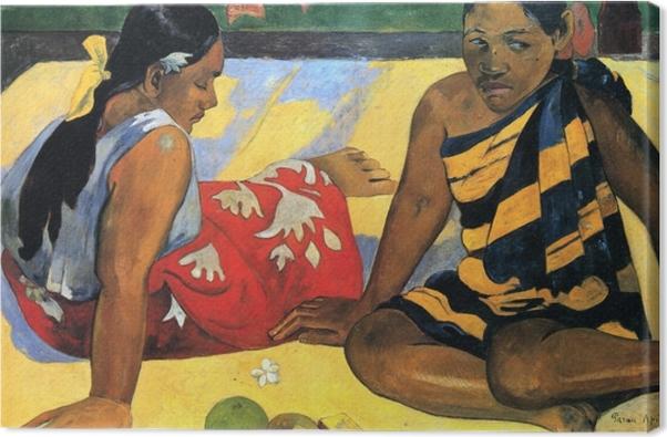 Paul Gauguin - Two Tahiti Women Canvas Print - Reproductions