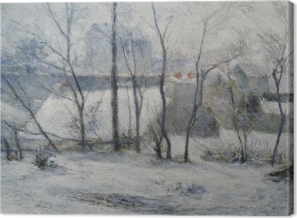 Paul Gauguin - Winter Landscape Canvas Print - Reproductions