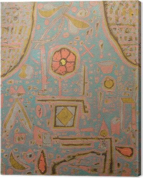Paul Klee - Efflorescence Canvas Print - Reproductions